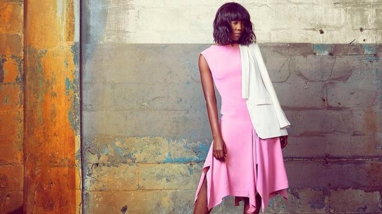 Tosin Akinyemiju shoots editorial for womenswear label TIFE