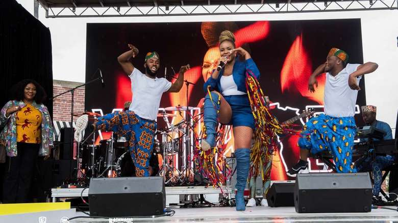 Yemi Alade Presents The Black Magic Tour Documentary