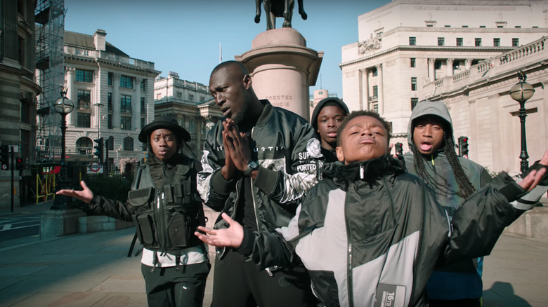 "Stormzy is back with the ""Vossi Bop"" Music Video"